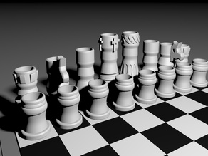 Chess set [drinking edition]