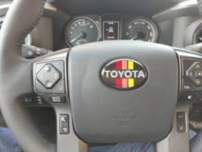 Toyota Tacoma Retro stripe overlay - MMU
