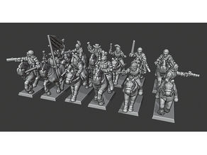 Warmaster Empire Pistoliers