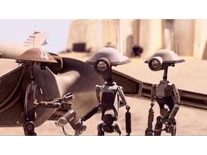 Pit droids ( pit crew & pit Commandos )