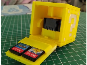 Mario Cube Switch Game Case, Foldable Print in Place