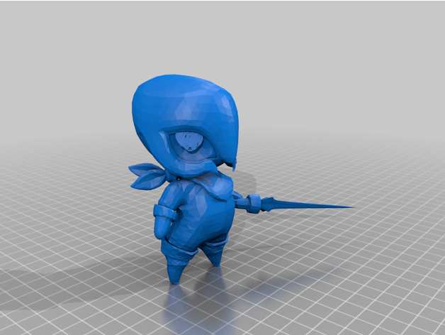 League Of Legends Little Legend Abyssia By Pouithemighty Thingiverse