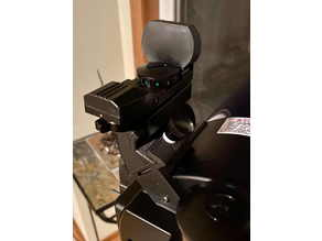 Red Eye Low Profile Mount for dovetail mount