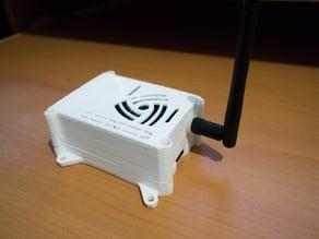 MySensors - RPi 3B + nRF24 + PA LNA + AMS1117