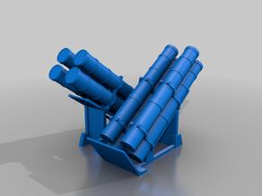 Harpoon Anti Ship Missile Launcher