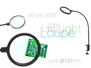 Loupe with Led Light