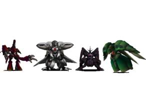 Final Fantasy VII WEAPONS FIeld Model