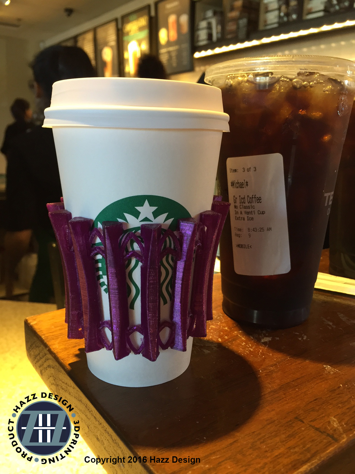 WTFFF Collapsible Coffee Sleeve by tomhazz Thingiverse