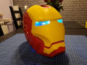 Iron man Helmet Project