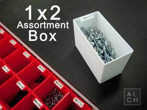 Assortment system box 1x2