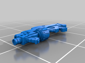 Yu-Jing Combi Rifle and Light Grenade Launcher for Infinity: The Game