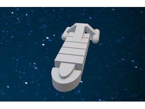 Star Trek Custom Freighter Ship Catan Road