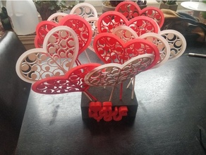 Valentine Gift - Heart Balloons