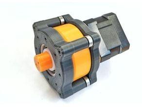 NEMA17 stepper motor Planetary GEARBOX 1:5 reduction