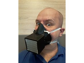 Covid HEPA mask - protection