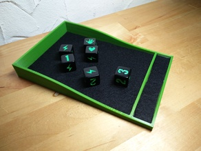 Dice Tray for King of Tokyo