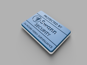 Protected by Swann Security Sign