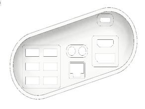 iMac G3 IO shield