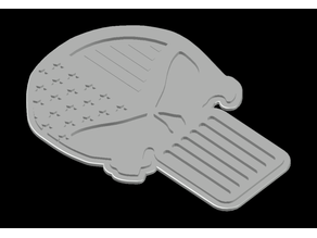 Punisher Flag Pinning Tray