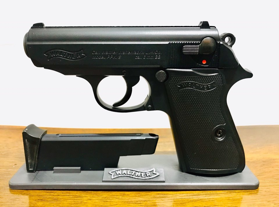 Acro model(아크로모형) -  walther PPK/S stand 발터 스탠드