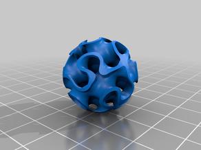 gyroid bioball for wet/dry aquarium biofilter 25mm