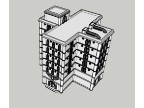 Adeptus Titanicus Building No. 26 - Intact
