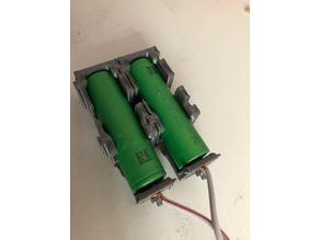 18650 multiple battery case