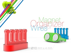 Magnet Organizer for Wires