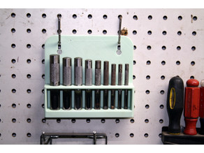 Harbor Freight Hollow Punch Set Pegboard Rack