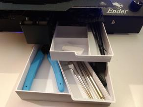 Ender 3 Pro Dual Drawer