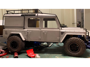 RC Landrover D110 Fenders