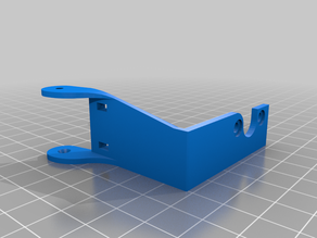 Ender 3 Cable Chain E bracket mount
