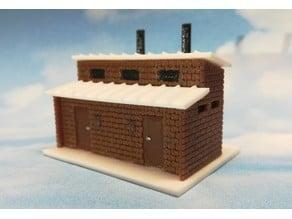 N-Scale Brick Scheisse Haus