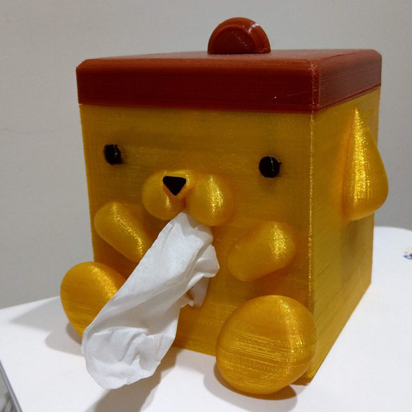 Pompompurin Tissue Box (布丁狗面紙盒)