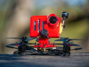 Dison X (Micro Cinematic freestyle drone mount)