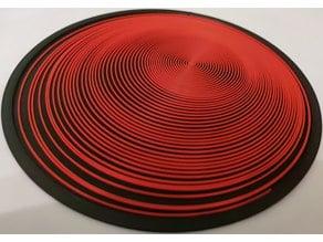 Spiral optical effect