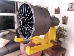 NEW SCALE TURBOFAN ENGINE GENX FAN