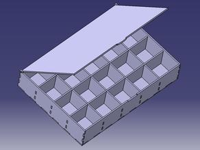 Compartmented box (lasercut)