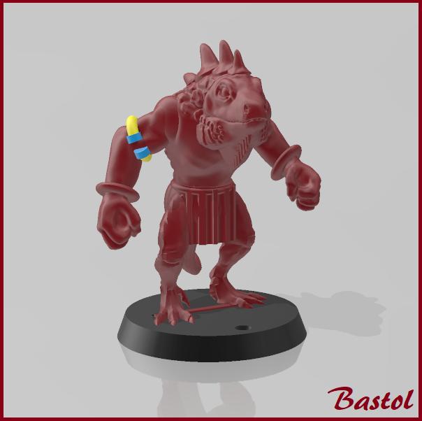 Blood Bowl Kroxigor- Big Guy
