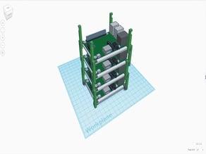 Raspberry Pi tower case