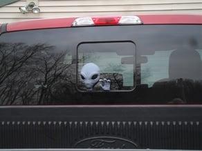 Alien for back of truck