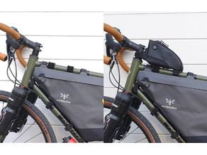 Norco Search XR-S top tube bag anti-roll mount