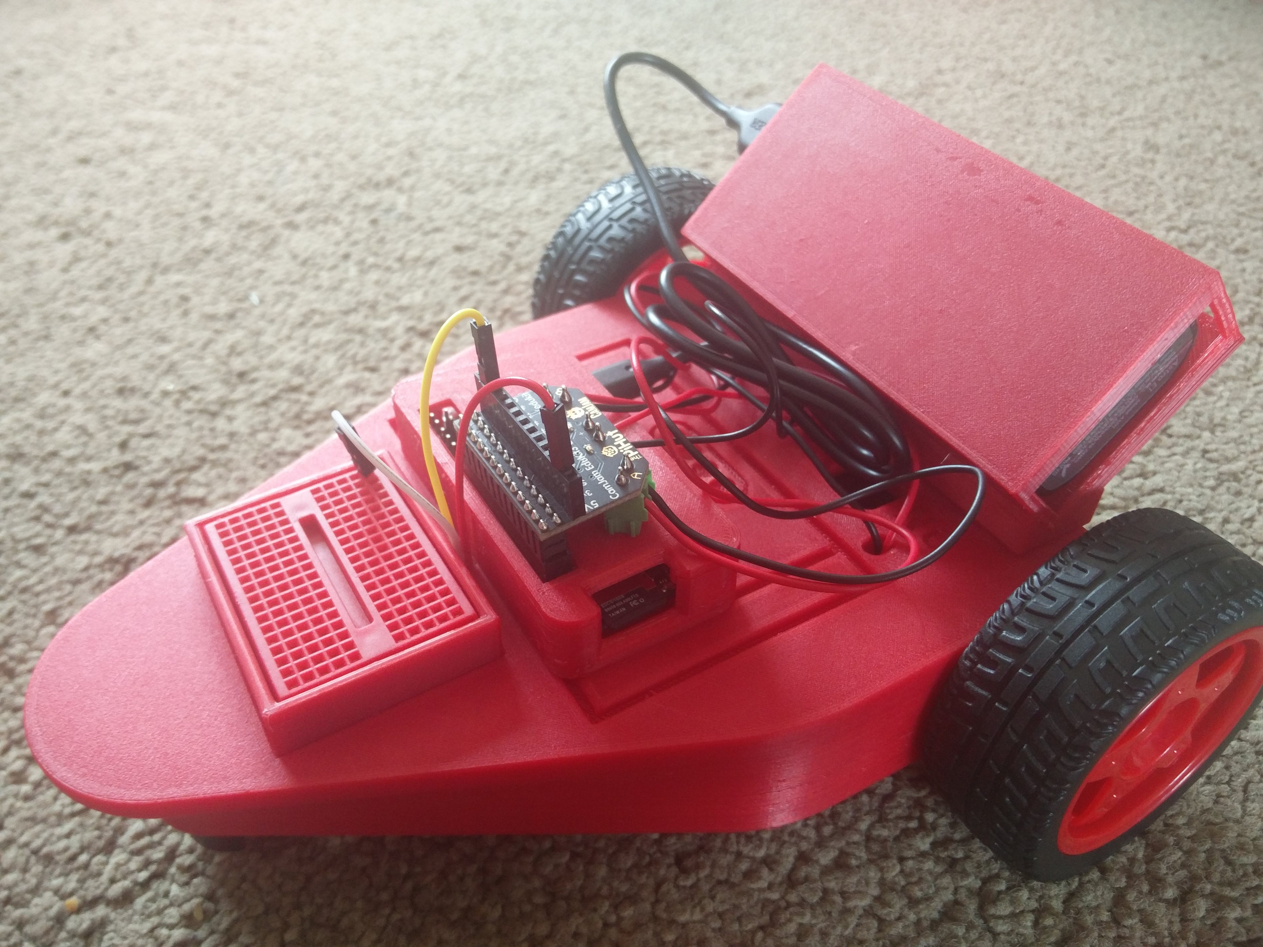 CamJam EduKit #3 Robot Chassis for the Raspberry Pi by thingyNik
