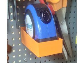 Biltema Pegboard Tape Measure Holder
