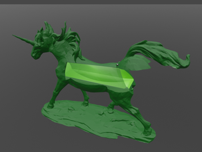 Unicorn with secret stash