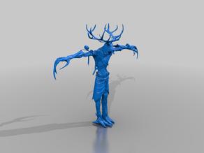 wendigo beast of the wild - dnd monster - tm