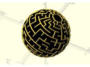 Sphere maze