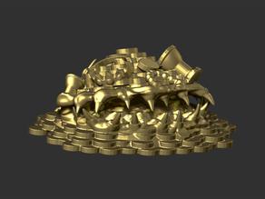 Gold Pile Mimic