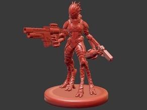 Alien Pilot Miniature