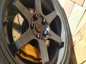 Wheel Caps for Rims (Volk TE37)